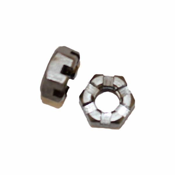 1/4 Zoll - 28 UNF Kronenmutter Stahl