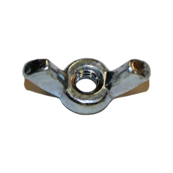 No. 8 - 32 UNC Flügelmutter Stahl verzinkt