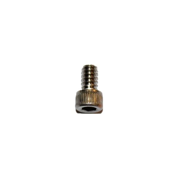 6 - 32 UNC x 1/4 Zoll Länge 6,35 mm Edelstahl A2 Innensechskantschraube