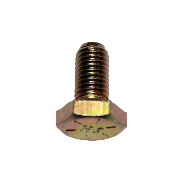 1/4 Zoll - 28 x 1/2 Zoll Länge 12,70 mm Sechskantschraube UNF 10.9 gelb verzinkt
