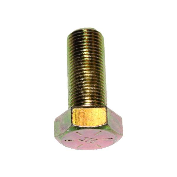 5/8 Zoll - 18 x 1 1/2 Zoll Länge 38,10 mm Sechskantschraube UNF 10.9 gelb verzinkt