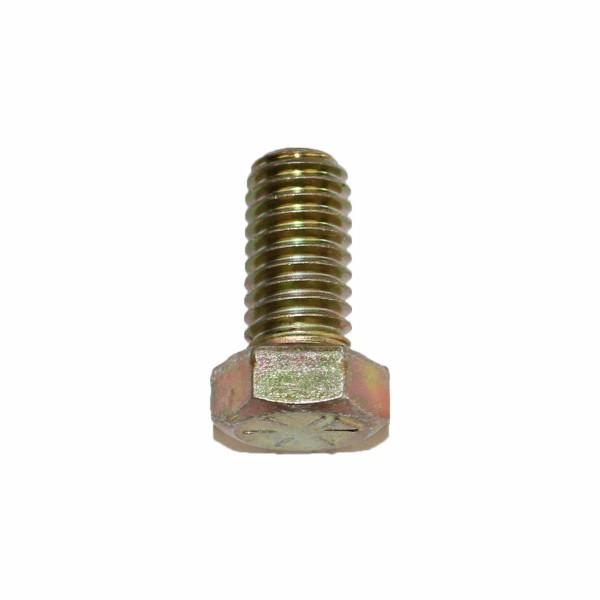 7/16 Zoll - 14 x 7/8 Zoll Länge 22,22 mm Sechskantschraube UNC 10.9 gelb verzinkt