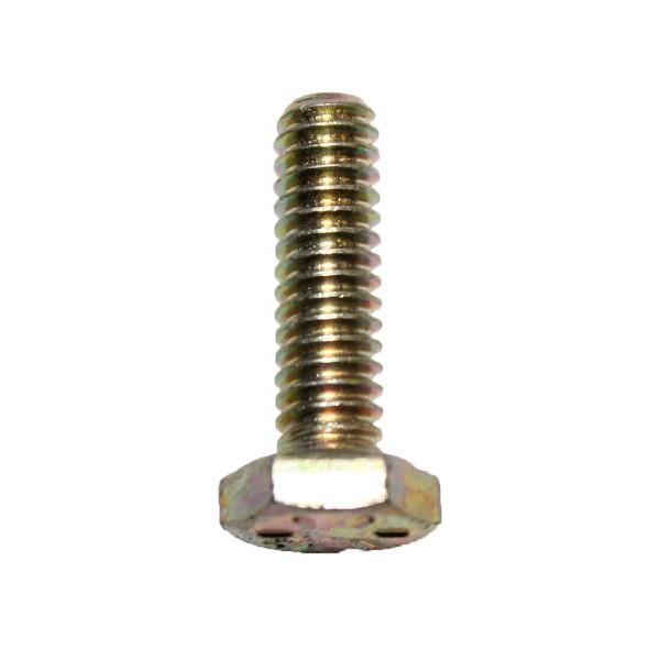 1/4 Zoll - 20 x 7/8 Zoll Länge 22,23 mm Sechskantschraube UNC 10.9 gelb verzinkt