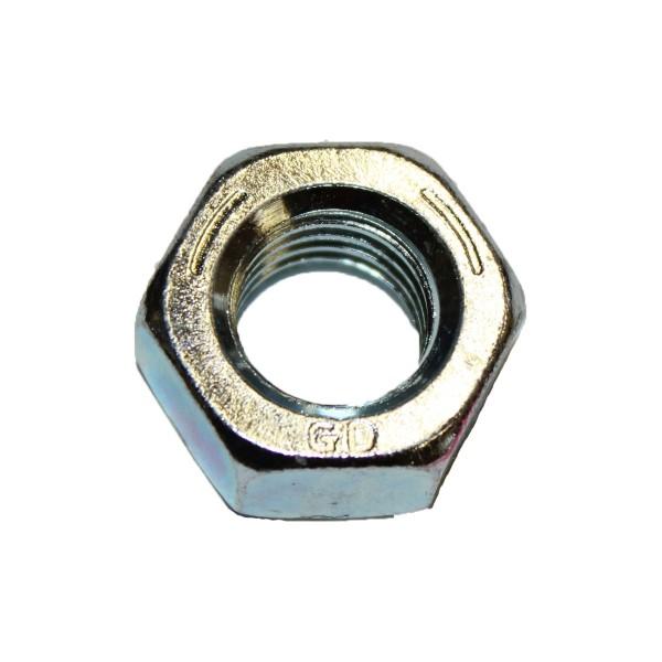 9/16 Zoll - 12 UNC Sechskantmutter Stahl verzinkt Grade 5