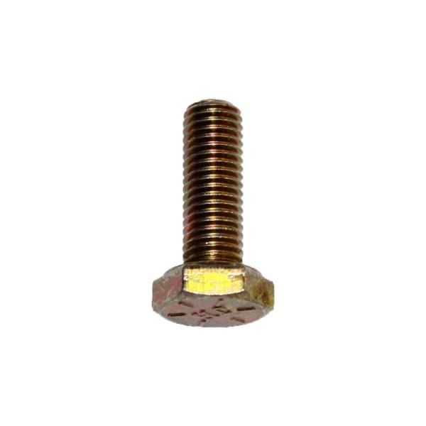 1/4 Zoll - 28 x 3/4 Zoll Länge 19,05 mm Sechskantschraube UNF 10.9 gelb verzinkt