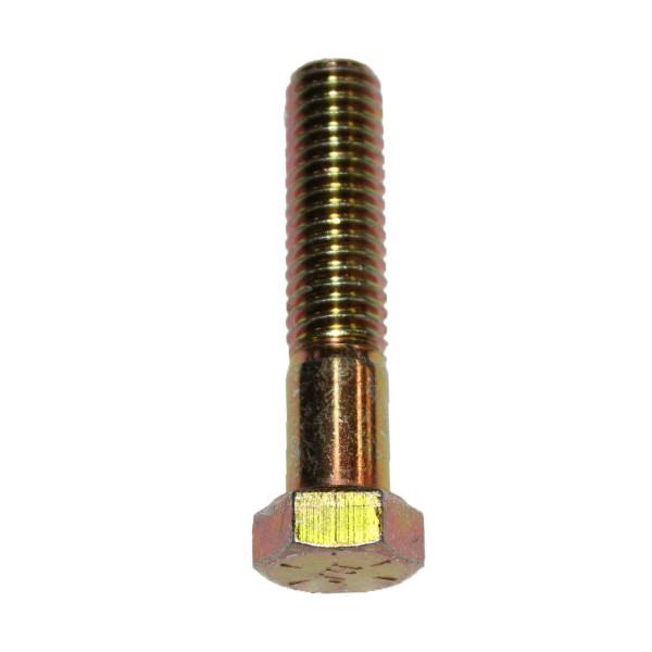 7/16 Zoll - 14 x 2 Zoll Länge 50,80 mm Sechskantschraube UNC 10.9 gelb verzinkt
