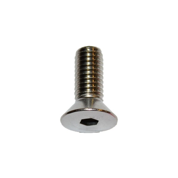 3/8 - 16 x 1 Zoll Senkkopfschraube m. Innensechskant UNC Länge 25,40 mm Edelstahl A2