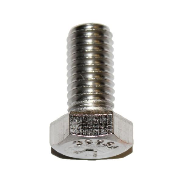 1/2 Zoll - 13 x 1 Zoll Länge 25,40 mm Sechskantschraube UNC Edelstahl A2