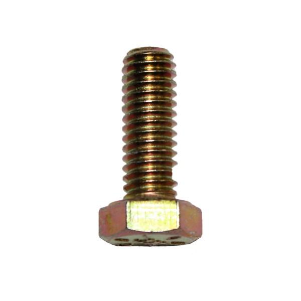 5/16 Zoll - 18 x 7/8 Zoll Länge 22,23 mm Sechskantschraube UNC 10.9 gelb verzinkt