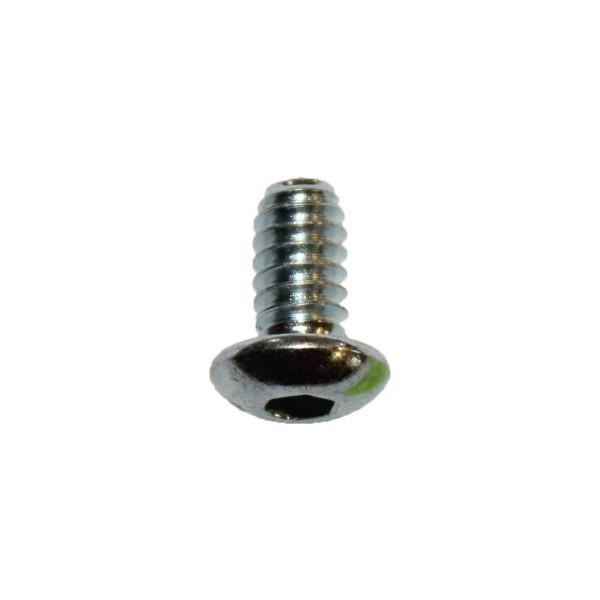 10 - 24 UNC x 3/8 Zoll Länge 9,53 mm Linsenkopfschraube verzinkt