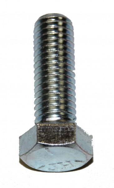 1/2 Zoll - 13 x 1 1/2 Zoll Länge 38,10 mm Sechskantschraube UNC verzinkt