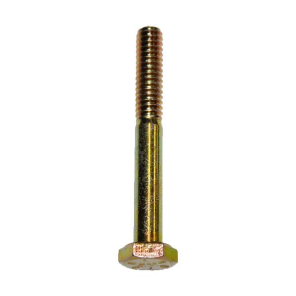 1/4 Zoll - 20 x 2 Zoll Länge 50,80 mm Sechskantschraube UNC 10.9 gelb verzinkt