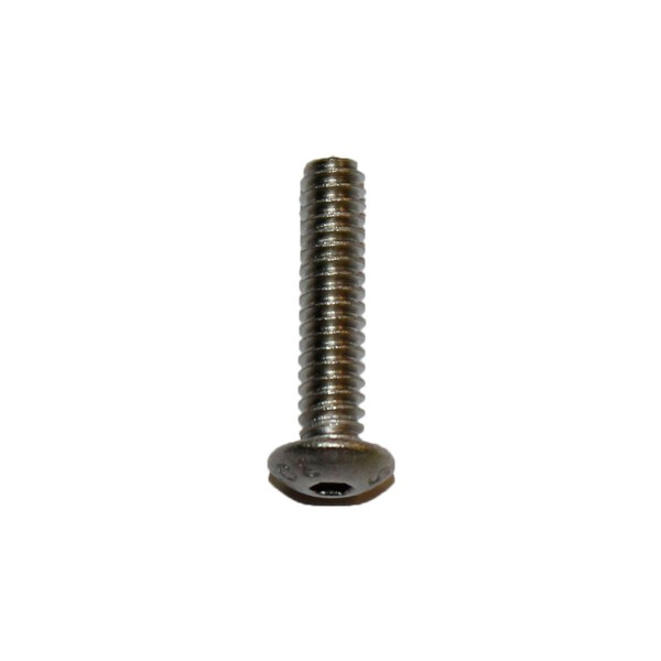 6 - 32 UNC x 5/8 Zoll Länge 15,88 mm Edelstahl A2 Linsenkopfschraube