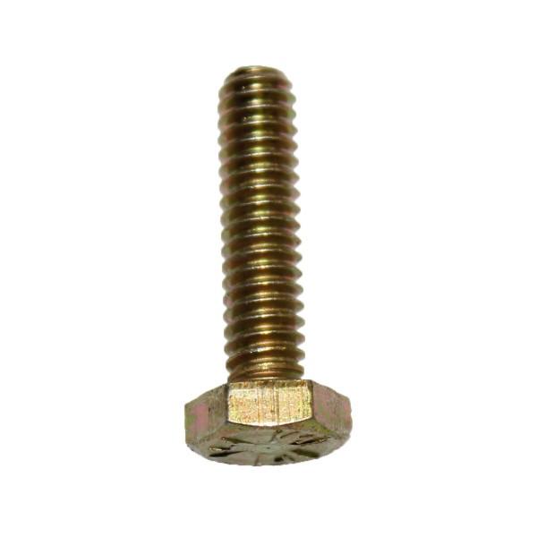 1/4 Zoll - 20 x 1 Zoll Länge 25,40 mm Sechskantschraube UNC 10.9 gelb verzinkt