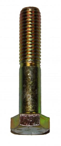1/2 Zoll - 13 x 2 1/2 Zoll Länge 63,50 mm Sechskantschraube UNC 10.9 gelb verzinkt
