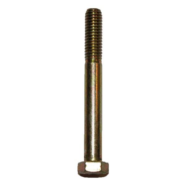 3/8 Zoll - 16 x 3 1/4 Zoll Länge 82,55 mm Sechskantschraube UNC 10.9 gelb verzinkt