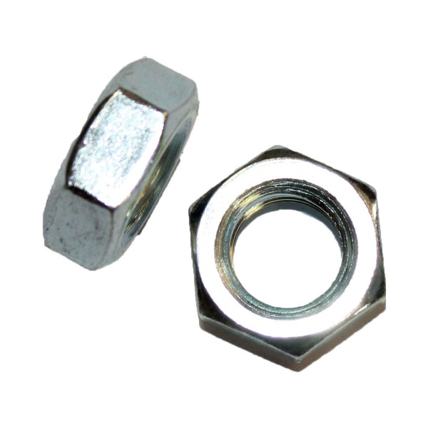 5/8 Zoll - 11 UNC Sechskantmutter Flach Hex Jam Nut Grade A verzinkt