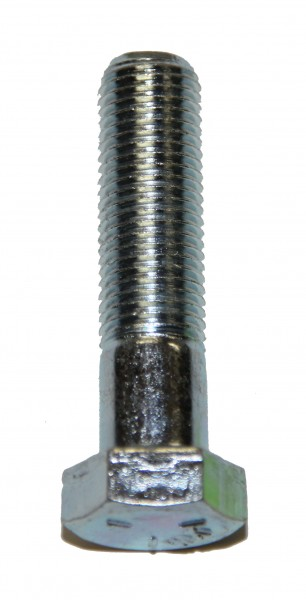 3/8 Zoll - 24 x 1 1/2 Zoll Länge 38,10 mm Sechskantschraube UNF verzinkt