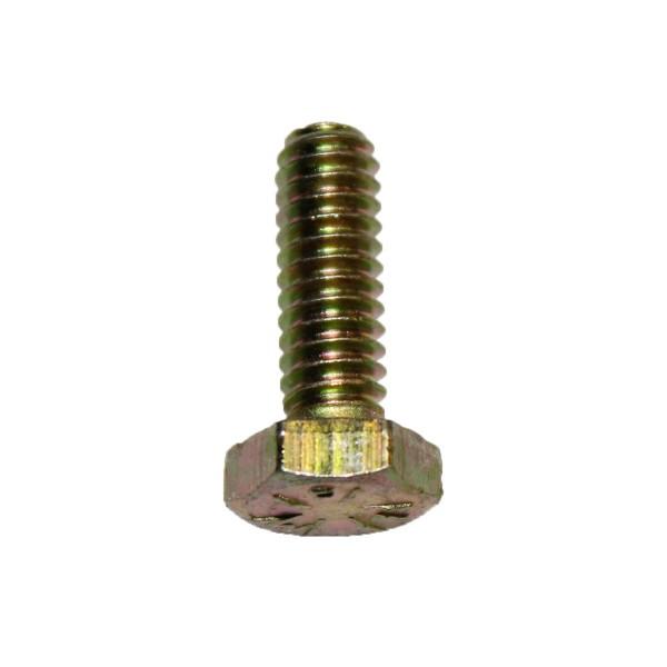 1/4 Zoll - 20 x 3/4 Zoll Länge 19,05 mm Sechskantschraube UNC 10.9 gelb verzinkt