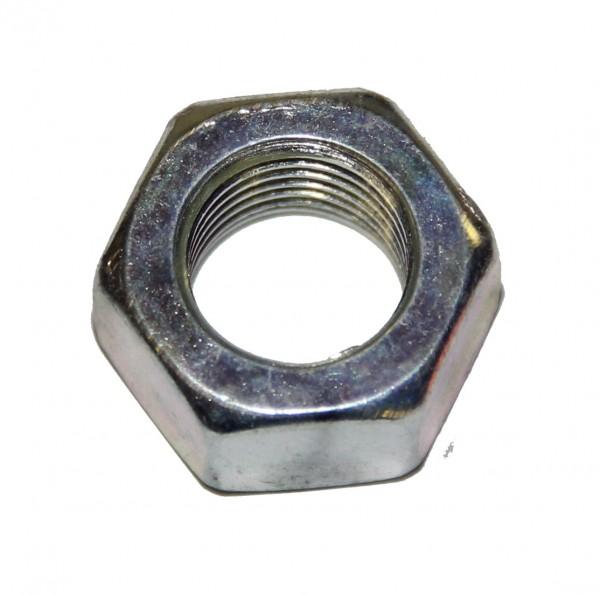 3/8 Zoll - 24 UNF Sechskantmutter Stahl verzinkt Grade 5