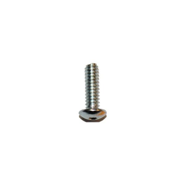 4 - 40 UNC x 3/8 Zoll Länge 9,53 mm Linsenkopfschraube verzinkt