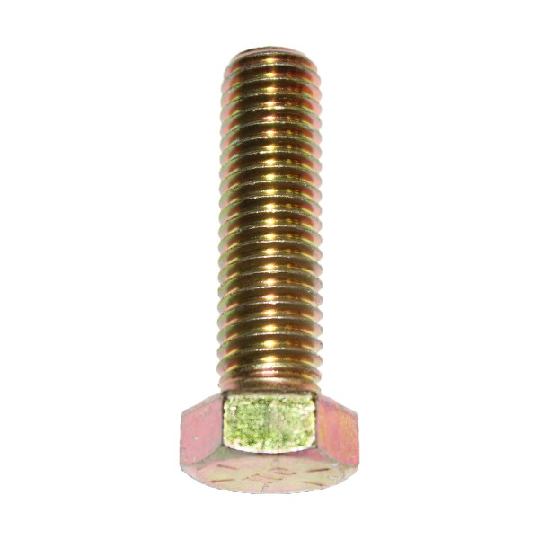 9/16 Zoll - 12 x 2 Zoll Länge 50,80 mm Sechskantschraube UNC 10.9 gelb verzinkt