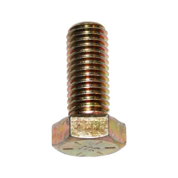 5/8 Zoll - 11 x 1 1/2 Zoll Länge 38,10 mm Sechskantschraube UNC 10.9 gelb verzinkt