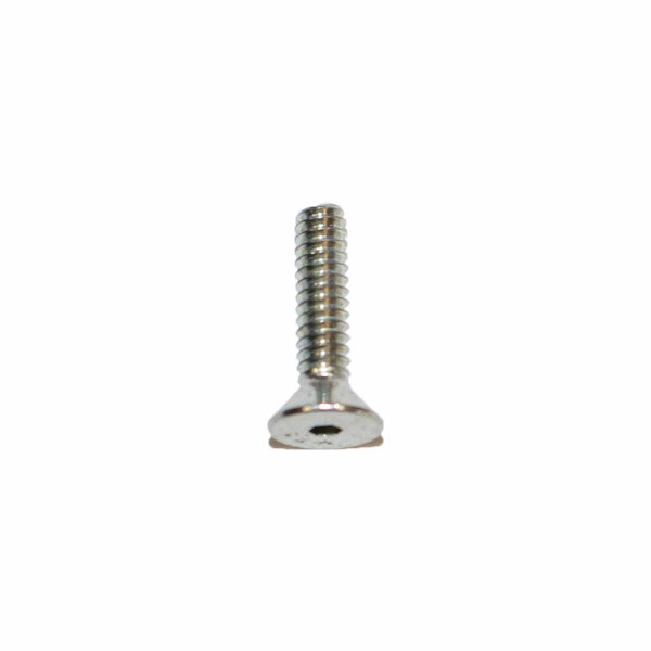 4 - 40 UNC x 1/2 Zoll Länge 12,70 mm Senkkopfschraube m. Innensechskant verzinkt