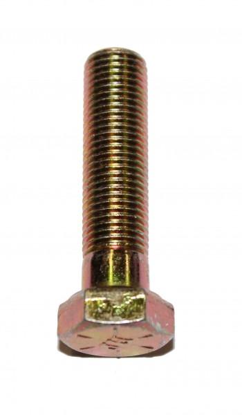 3/8 Zoll - 24 x 1 1/2 Zoll Länge 38,10 mm Sechskantschraube UNF 10.9 gelb verzinkt