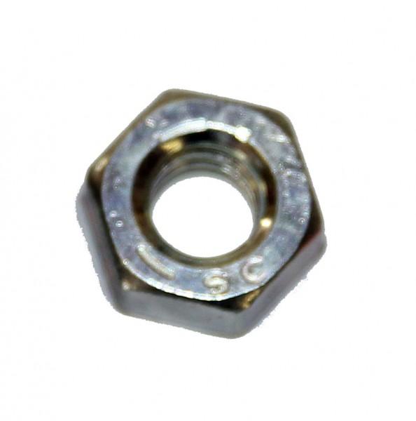 1/4 Zoll - 20 UNC Sechskantmutter Stahl verzinkt