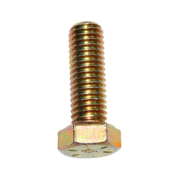 1/2 Zoll - 13 x 1 1/2 Zoll Länge 38,10 mm Sechskantschraube UNC 10.9 gelb verzinkt