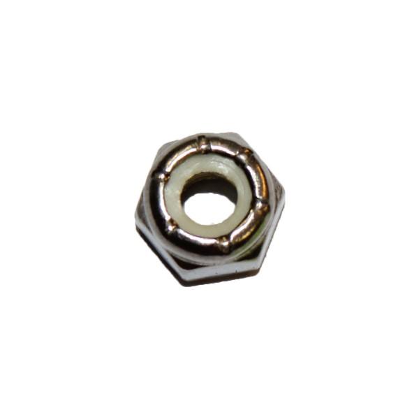 1/4 Zoll - 20 UNC Sicherungsmutter mit Nylonring Edelstahl A2