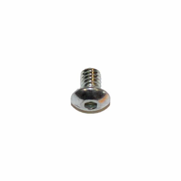 8 - 32 UNC x 1/4 Zoll Länge 6,35 mm Linsenkopfschraube verzinkt