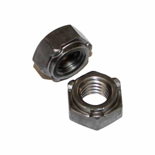 3/8 Zoll - 16 UNC Sechskant Schweißmutter Stahl Grade 5