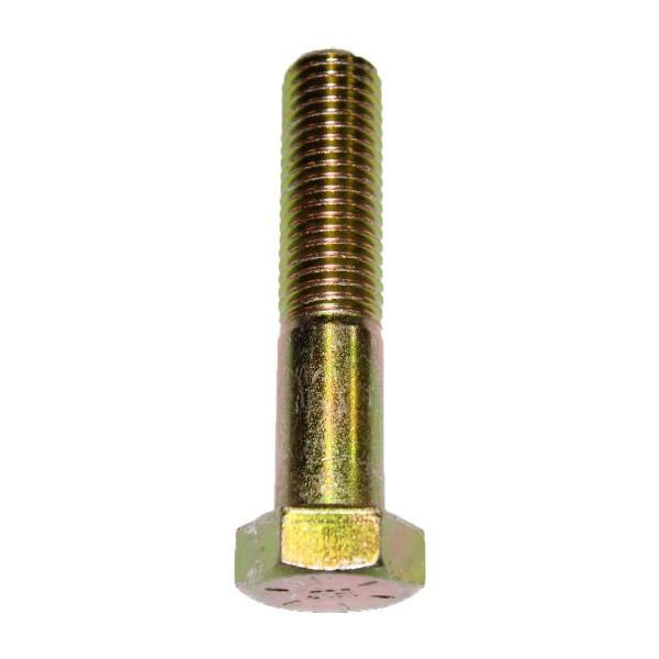 3/4 Zoll - 10 x 3 1/2 Zoll Länge 88,90 mm Sechskantschraube UNC 10.9 gelb verzinkt