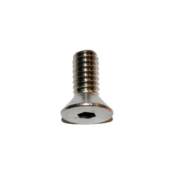 1/4 - 20 x 5/8 Zoll Senkkopfschraube m. Innensechskant UNC Länge 15,88 mm Edelstahl A2