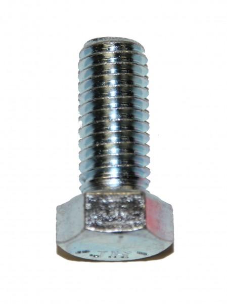7/16 Zoll - 14 x 1 Zoll Länge 25,4 mm Sechskantschraube UNC verzinkt