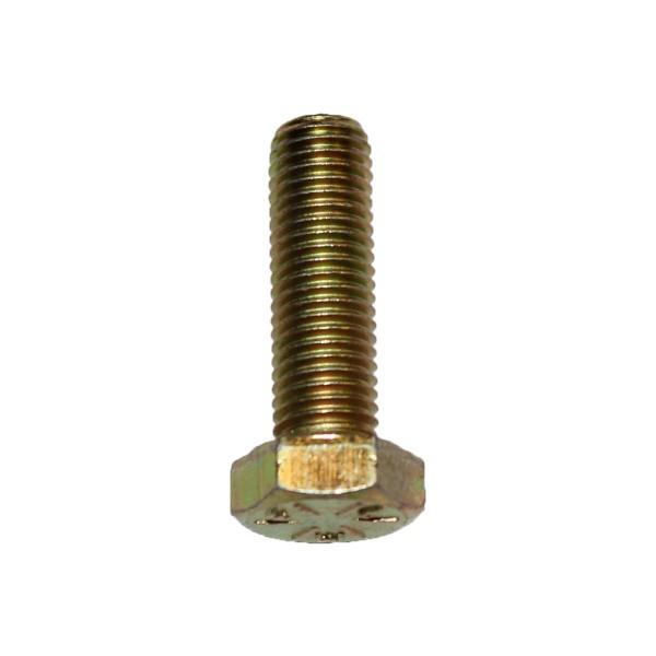 5/16 Zoll - 24 x 1 Zoll Länge 25,40 mm Sechskantschraube UNF 10.9 gelb verzinkt