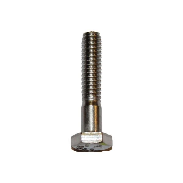 1/4 Zoll - 20 x 1 1/4 Zoll Länge 31,75 mm Sechskantschraube UNC Edelstahl A2