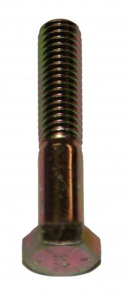 3/8 Zoll - 16 x 2 1/2 Zoll Länge 63,50 mm Sechskantschraube UNC 10.9 gelb verzinkt