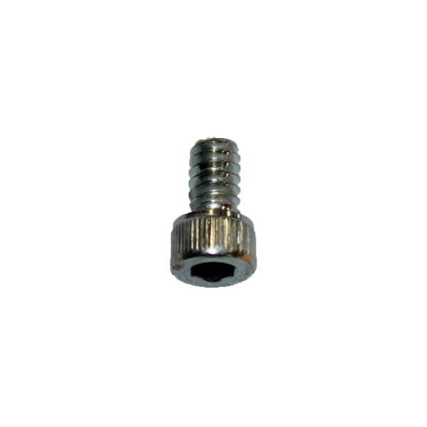 6 - 32 UNC x 1/4 Zoll Länge 6,35 mm Innensechskantschraube verzinkt