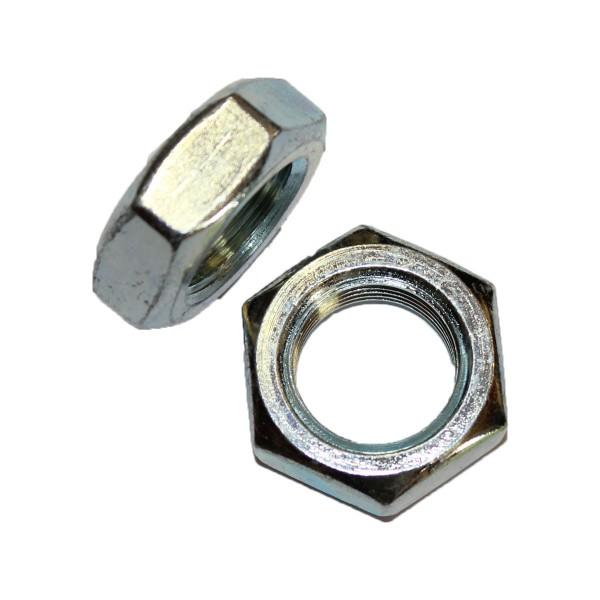 3/4 Zoll - 16 UNF Sechskantmutter Flach Hex Jam Nut Grade A verzinkt