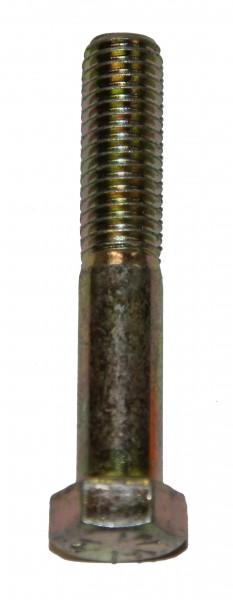 7/16 Zoll - 14 x 2 1/2 Zoll Länge 63,50 mm Sechskantschraube UNC 10.9 gelb verzinkt