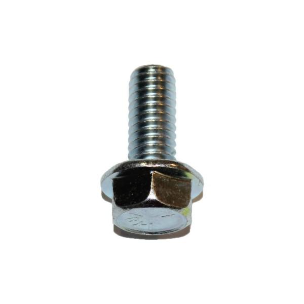 5/16 Zoll - 18 x 3/4 Zoll Länge 19,05 mm Sechskantschraube mit Flansch UNC verzinkt