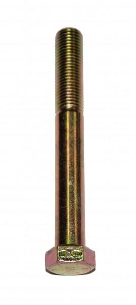 7/16 Zoll - 20 x 4 Zoll Länge 101,60 mm Sechskantschraube UNF 10.9 gelb verzinkt