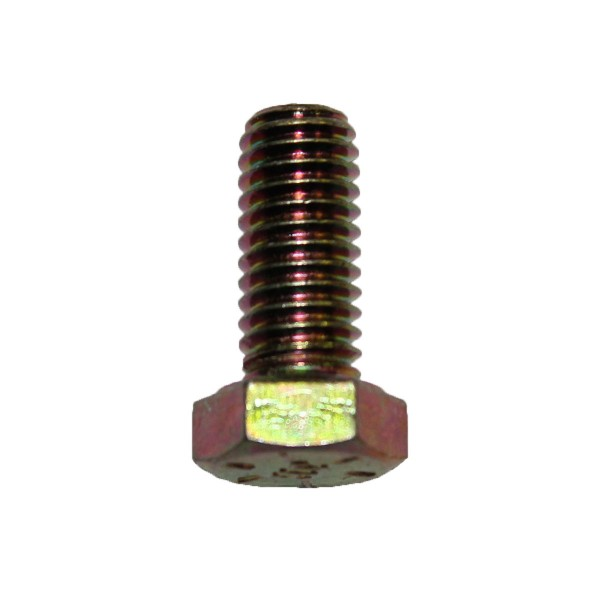 3/8 Zoll - 16 x 7/8 Zoll Länge 22,23 mm Sechskantschraube UNC 10.9 gelb verzinkt