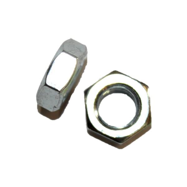 3/8 Zoll - 16 UNC Sechskantmutter Flach Hex Jam Nut Grade A verzinkt