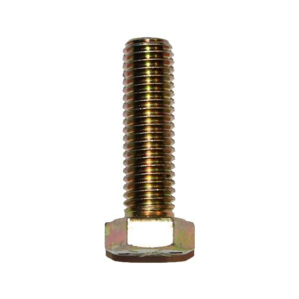 1/2 Zoll - 13 x 1 3/4 Zoll Länge 44,45 mm Sechskantschraube UNC 10.9 gelb verzinkt