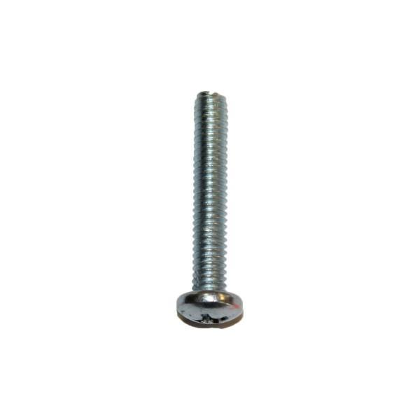 8 - 32 UNC x 1 Zoll Länge 25,40 mm Linsenkopfschraube verzinkt UNC