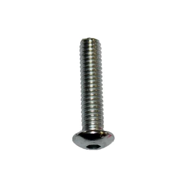 8 - 32 UNC x 3/4 Zoll Länge 19,05 mm Linsenkopfschraube verzinkt